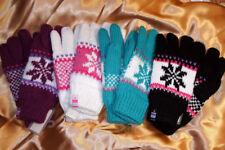 Super warme Norweger Handschuhe gefüttert mit Filz für Damen und Kinder