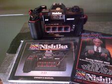 Nishika N8000 35mm 3D Stereo Film Camera & Manual