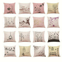 Washable Home Decor Cushion Cover Simple Style Throw Pillowcase Pillow Covers