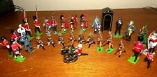 30- Metal Toy Soldiers -Bulldog, Rare Seated Gunner And More