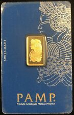 5 Gram Gold Bar Pamp Suisse Lady Fortuna Sealed( In Assay).#C270130