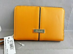HARRODS GREENWICH Retro YELLOW Colour Ladies Purse / Wallet * NEW with TAG