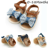 Baby Girls Woven Sandals Shoes Casual Sneaker Anti-slip Sole Toddler Shoes
