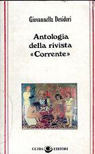 """Giovannella Desideri ANTOLOGIA DELLA RIVISTA """" CORRENTE """""""