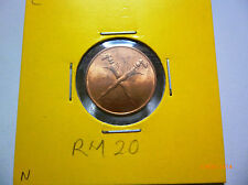 C: Malaya 1 Cent 1962 - BU