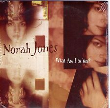 CD CARTONNE CARDSLEEVE COLLECTOR 1T NORAH JONES WHAT AM I TO YOU NEUF SCELLE 04