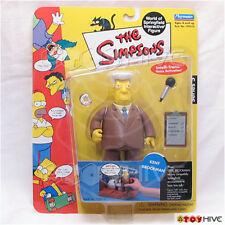 Simpsons Kent Brockman reporter series 5 Playmates interactive