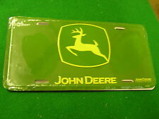 NEW- (Green) ...JOHN DEERE ..License Plate ....FREE Postage