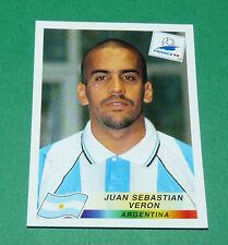 N°507 VERON ARGENTINE ARGENTINA PANINI FOOTBALL FRANCE 98 1998 COUPE MONDE WM