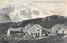 3635) ALAGNA SESIA (VERCELLI) ALPE CAMPO E MONTE ROSA. VIAGGIATA NEL 1923.