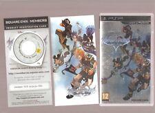 Rarissime !!! KINGDOM HEARTS BIRTH BY SLEEP : Un RPG Mythique sur PSP