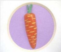 Bakelite Realistic Carrot Vintage Button Rare EXCELLENT Vegetable NBS LARGE