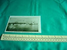 Small Reproduction Photograph of Newspaper Cutting 3 Pleasure Boats 1930s