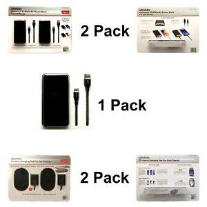 2-Pack ubiolabs Universal, 10,000mAh Power Bank Cell Phones