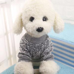 Pet Dog Cat Warm Fleece Vest Clothes Coats Puppy Shirt Sweater Winter Apparel US