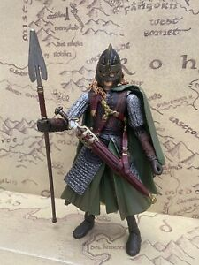 LORD OF THE RINGS MINT & LOOSE ACTION FIGURE - EOWYN  IN ROHAN ARMOUR