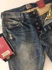 PRPS Goods & Co NWT FURY Men's Jeans Tapered Fit Relaxed SIze 30x33