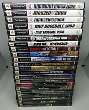 22 PS2 GAMES - GRAND THEFT AUTO TO SPORTS ONE LOT (I424)
