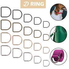 Metal D Ring 20mm 25mm 30mm 35mm 40mm Welded Findings Buckles for Webbing