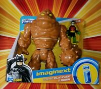 Imaginext DC Super Friends Clay Face  Oozing Clayface & Damian Wayne Robin
