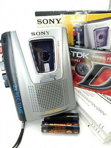 Sony TCM-20DV Pressman Standard Cassette Voice Recorder Dictaphone Dictation