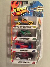 Team Hot Wheels High-Speed Wheels  Lot of 4 Vehicles NEW SEALED