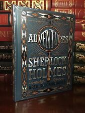 The Adventures of Sherlock Holmes by Doyle New Sealed Leather Bound Collectible