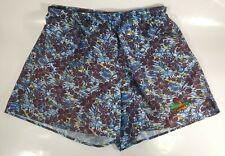 Ironman Triathlon Men's Swim Trunks Shorts Size XL Floral Blue