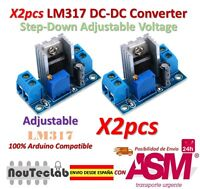 2pcs LM317 DC-DC Converter Step Down Circuit Board Adjustable Linear Regulator