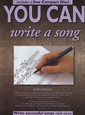 È possibile scrivere una canzone musica libro / cd impara a scrivere una canzone Guide