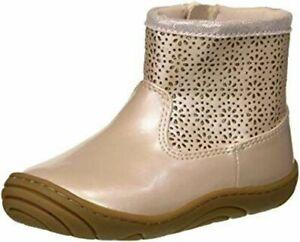 NIB STRIDE RITE Bootie Shoes Madison Pink Toddler 6 M