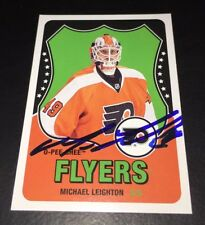 MICHAEL LEIGHTON - SIGNED - 2010/11 O-PEE-CHEE RETRO #55 CARD *AUTOGRAPHED*