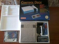 Nintendo NES control deck nueva pal españa completa caja y manuales de almacén