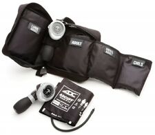 ADC 732 Multicuff Palm Aneroid Sphyg Blood Pressure Monitor Kit w 4 Cuff BLACK