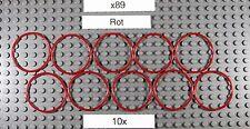 Gummiring für LEGO Tech.(x89)-Rubber Belt Large(Round Cross Section)4X4-Rot-10x