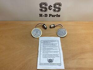 Custom Dynamics Moonshinez LED Bulb White Pair for Harley-Davidson 2060-0418