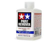 Tamiya 87183 Acrylic/Enamel Paint Remover 250ml Plastic Model Color Craft Tools