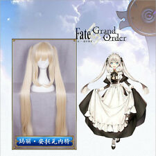Fate/Zore Marie Antoinette Long Light Golden With Double Ponytails Cosplay Wig