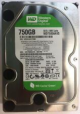 WD7500AAVS-00D7B0 Western Digital Hard Drive 750GB, 7200RPM, SATA, fully tested