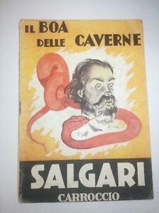 Emilio Salgari IL BOA DELLE CAVERNE n°5 Carroccio 1945 Talman