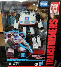 Transformers Studio Series Deluxe Porsche Autobot Jazz G1 86 1986 Movie In Stock