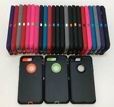 Lote Para iPhone 7/7 8/8 Plus Estuche Cubierta Protectora Plus híbrido resistente a prueba de choques
