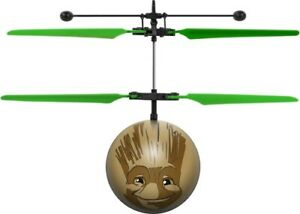 Marvel Guardians of the Galaxy Baby Groot IR UFO Ball Helicopter USB Charged NIB
