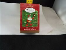 Hallmark Ornament 2000 Bell- Bearing Elf Nib
