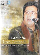 TALAT AZIZ LIVE CONCERT- NEW BOLLYWOOD TOP HIT SONGS DVD - FREE UK POST