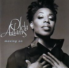 OLETA ADAMS : MOVING ON / CD (FONTANA 528 530-2) - TOP-ZUSTAND