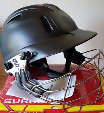 Surridge TEST Cricket helmet BLACK Mens  59-63cms