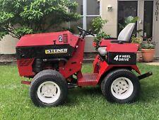 Steiner tractor - 4X4 425 Kubota diesel