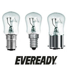 Eveready 15w or 25w Clear Pygmy Appliance Lamps 240v (SES / SBC / BC)