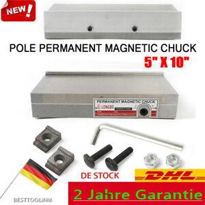 125x250mm Magnetspannplatte Magnetfutter Permanente Spannplatte Magnettisch